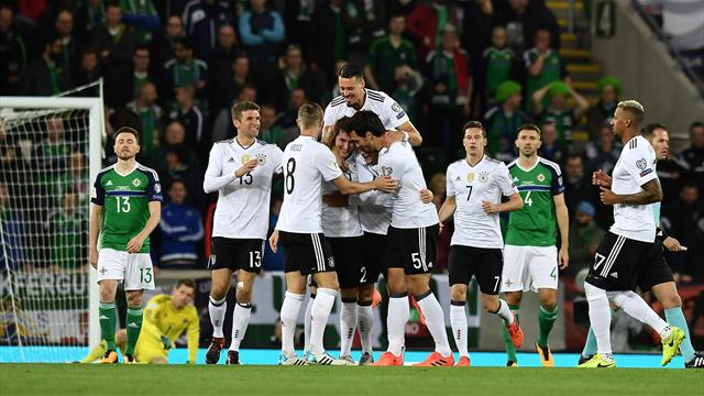 Germany seal place in World Cup finals with comfortable victory over Northern Ireland
