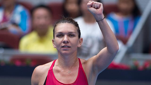 Halep wins Kasatkina grudge match to reach China Open semis