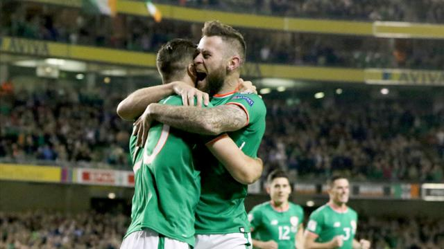 Ireland down Moldova to set up Wales showdown