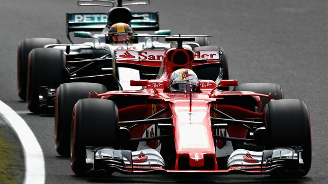 Ferrari and Mercedes diverge slightly on US tyres