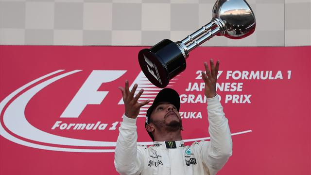 Vettel retires early as Hamilton wins in Japan to take huge title lead