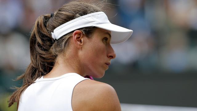 Johanna Konta to miss WTA finals because of foot injury