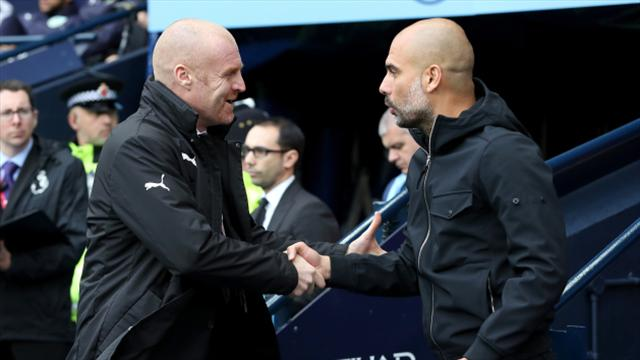 Image result for pep guardiola city 3-0 burnley