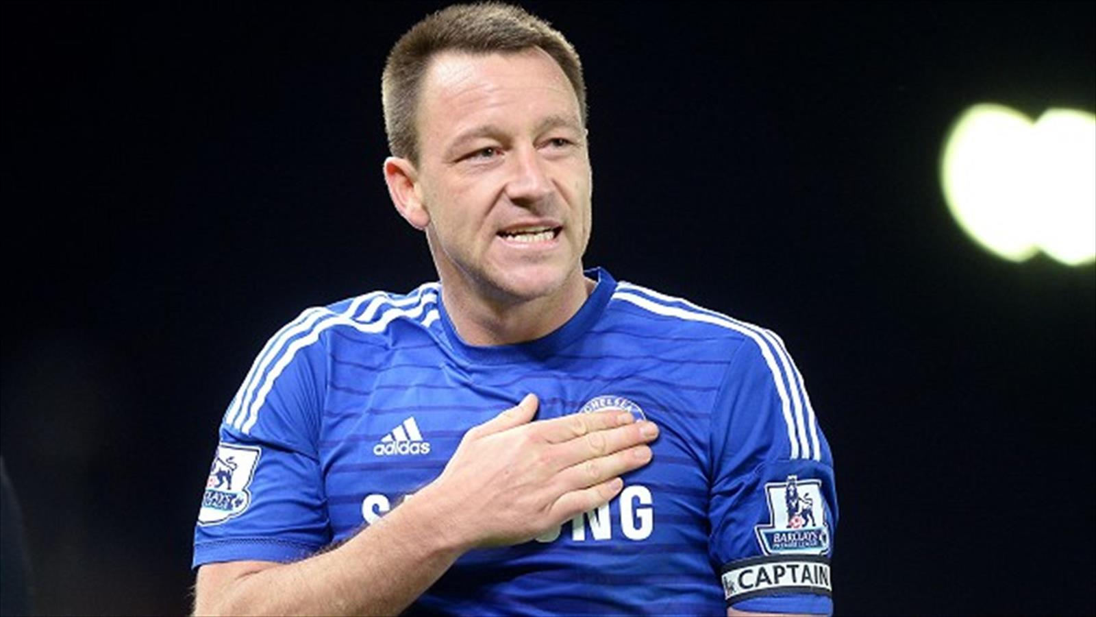 John Terry - sticking up for fans
