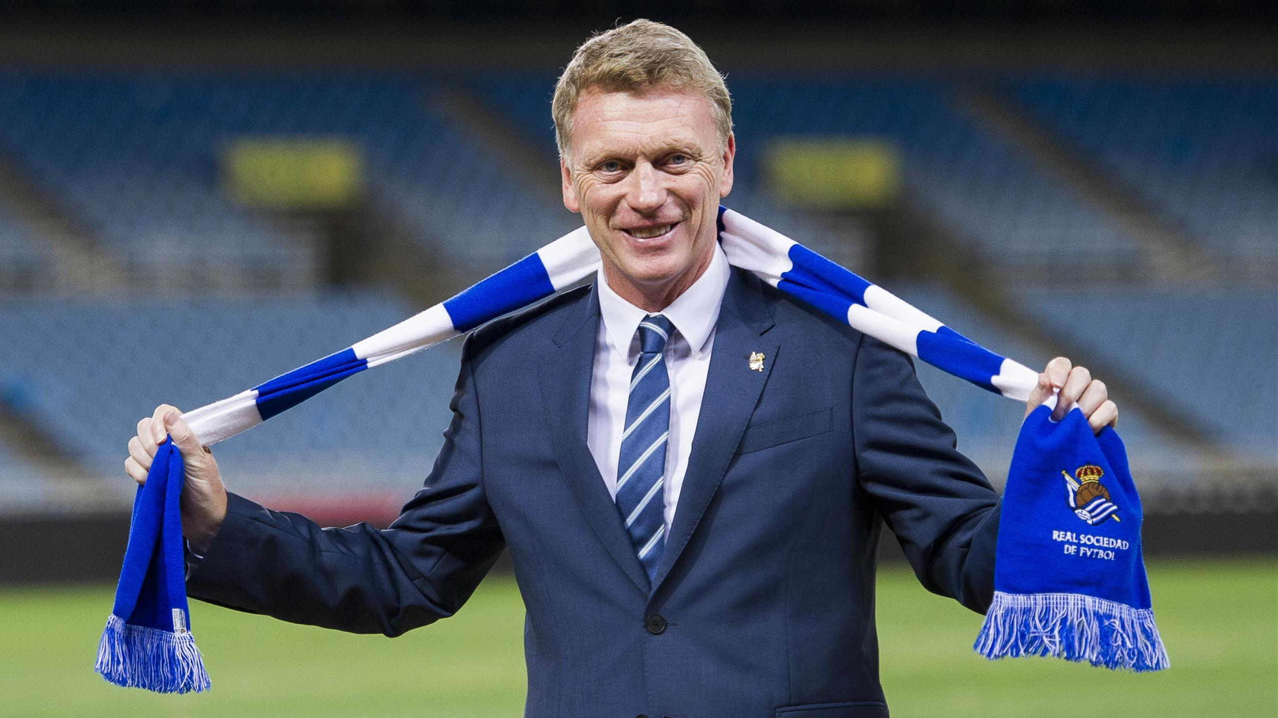 David Moyes, Real Sociedad manager (Getty)