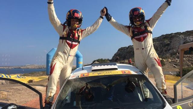 Day two report: ERC victor Al-Attiyah is Golden with record Cyprus win
