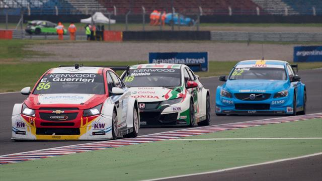 Guerrieri doubles up in WTCC style at home