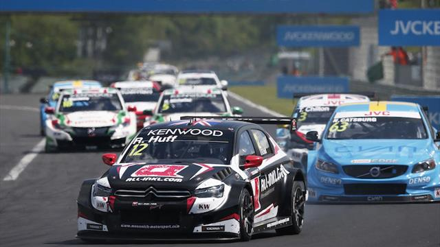 WTCC title still possible, says Huff