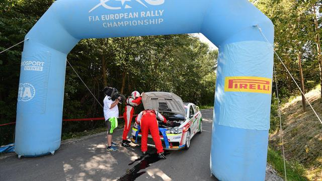 Érdi Jr's ERC bad luck strikes again
