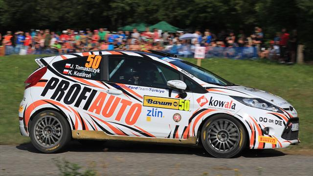 Mixed fortunes as fans cheer ERC rooke Tomaszczyk
