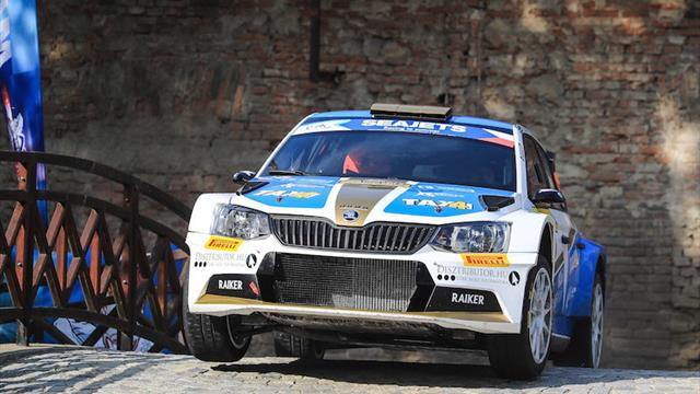 Car woes end Botka's Zlín ERC hopes